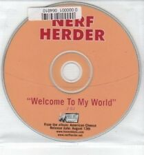 (BQ842) Nerf Herder, Welcome To My World - DJ CD