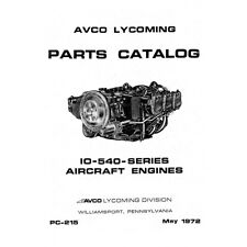 Lycoming Aircraft Engine Parts Catalog PC-215