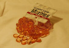 100 Pieces Darice Genuine Glass Marbles Light Rose 1192-18