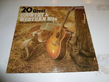 The Arizona Nightriders - 20 GREAT COUNTRY & WESTERN HITS - 1970 UK 20-track LP