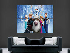 FROZEN MOVIE POSTER LARGE ART GIANT PRINT IMAGE HUGE !