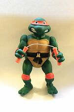 VINTAGE 1989 TEENAGE MUTANT NINJA TURTLES MICHELANGELO GIANT SIZE COMPLETE!