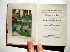 1935 Childrens Book Peter Rabbit and Jack The Jumper Wee Book