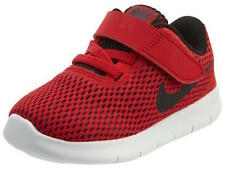 Size 2 Toddler/Infants Nike Free Run (TDV) Light Weight 833992 600 Black/Red