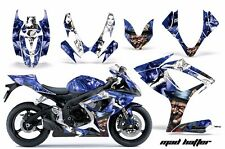 AMR Racing Graphic Kit Wrap Part Suzuki GSXR 600/750 Street Bike 06-07 HATTER WU