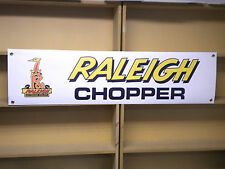Raleigh Chopper bicycle retro 70s look advertising banner