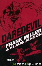 DAREDEVIL BY MILLER AND JANSON VOLUME 2 GRAPHIC NOVEL New Paperback *336 Pages*
