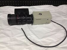 Sony DXC-930 3CCD Color Video Camera w/ Fujinon TV-Z Zoom Lens S14x7.5BMD-D18