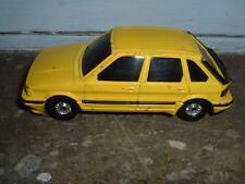 CORGI TOYS #1009 MG MAESTRO 1600 YELLOW IN PLAYWORN USED CONDITION
