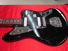 Fender Johnny Marr Jaguar Black Electric Guitar With Nice Hard Case