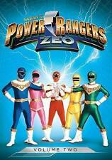 POWER RANGERS ZEO Volume Two DVD NEW Sealed 3 DVD Set 25 Episodes FactorySealed