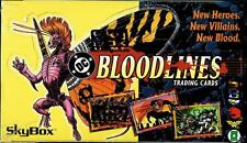 "1993 SKYBOX/DC COMICS ""BLOODLINES"" FACTORY SEALED TRADING CARD 36 PACK BOX NM/MT"