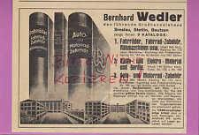 BRESLAU-STETTIN, Werbung 1934, Bernhard Wedler Fahrrad-Zubehör Nähmaschinen