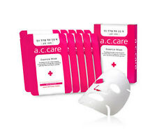 Acne Treatment Best for Pimples A.C.CARE Bee's Essence Mask Red 10 sheets