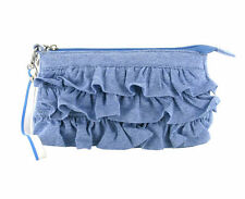 Rocket Dog Ruffle Trim Clutch Bag