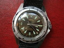 Vintage Stentor GMT Worldtimer with two bezel Diver Style Sicura Men's Watch