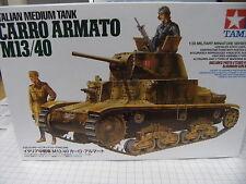 Tamiya 35296 1:35 Italian Medium Tank Carro Armato M13/40 NEU OVP