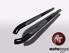 "FINAL SALE 05-09 Chevy Equinox 3"" Black Side Steps Nerf Bars"