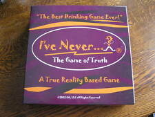 2003 I'VE NEVER...The Game of Truth~~Reality~Based Party Game For Adults 21+