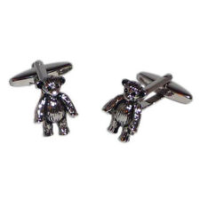 Pair of Teddy Bears Cufflinks in Gift Box X2AJ140