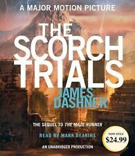 Scorch Trials James Dashner CD audiobook unabridged Brand New Maze Runner