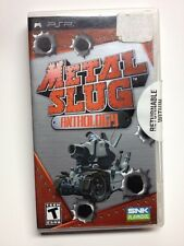 Metal Slug Anthology for Sony PlayStation Portable PSP Complete By SNK