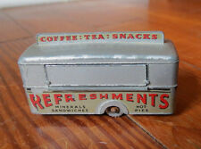 VINTAGE MATCHBOX LESNEY MOBILE CANTEEN No 74 - Gray Wheels