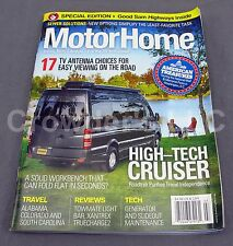 MotorHome Magazine July 2015 High-Tech Cruiser 17 TV Antenna American Treasures