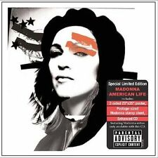 MADONNA American Life LIMITED EDITION CD BOX SET NEW with Poster Postage Stamps