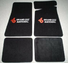 1984-87 Buick Regal Grand National Carpeted Floor Mats Set Embroided GN Logo
