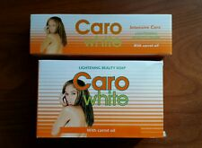 COMBO DEAL Caro White Cream &Soap Lightening Carrot Oil Hydroquinone 2% Melasma