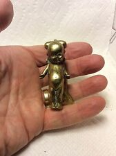 ANTIQUE BRASS KEWPIE DOLL DOOR KNOCKER