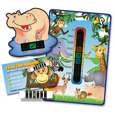 Pack of 'Happy Family' Jungle Animal baby room, bath and forehead thermometers
