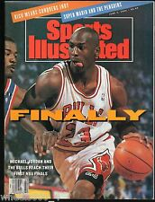 Sports Illustrated 1989 Chicago Bull's Michael Jordan No Label Excellent