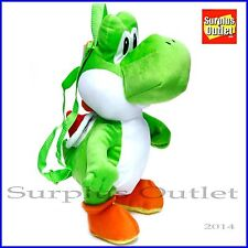 "Yoshi 19"" Plush  Doll Backpack Costume bag Mario Friend"