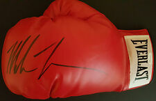 MIKE TYSON Signed BOXING Glove WORLD HEAVYWEIGHT BOXING Champion COA