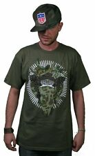 Crooks and Castles Knit Militia Medusa Crew Surplus T-Shirt Size: S