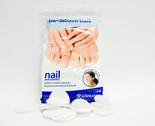 Graham HandsDown Ultra Nail Wipes Cosmetic Pads ROUND Lint Free 240ct/bag