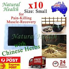 10 x Pain Relief Relieve Patch Plaster Natural Chinese Herb Herbal Extract Small