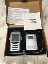 Williams Sonoma 2001 Digital Remote Thermometer Maverick 692300 Meat Cooking