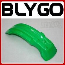 GREEN Plastic Front Wheel Mud Guard Fender Orion Apollo 125 250cc PIT Dirt Bike