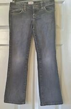 Girls, OLD NAVY, 8, Classic, low rise, Boot cut, Gray Jeans, adjustable waist