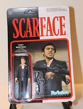 FUNKO REACTION FIGURES SCARFACE TONY MONTANA 3.75 INCH FIGURE!!