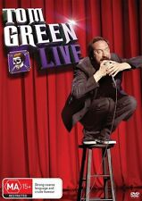 TOM GREEN LIVE DVD BRAND NEW COMEDY!!