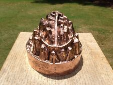 Antique Benham & Froud Royal Alfred Naval Anchor & Chain Copper Jelly Mould Mold