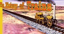 """The HISTORY of TRAINS Small 4"""" by 2"""" inch MOTION FLIP Book New"""