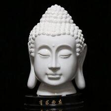 Chinese Dehua Porcelain Handwork Buddha Head Statue CSYB355