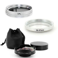 30mm 0.3x Wide Angle Fisheye Lens + CPL Filter for Sony Handycam DCR-DVD103,USA