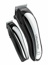 New Cordless Lithium Ion Clipper Wahl Hair Trimmer Barber Electric Pro Quick new