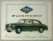 RILEY PATHFINDER Car Sales Brochure 1956 #H&E 5513